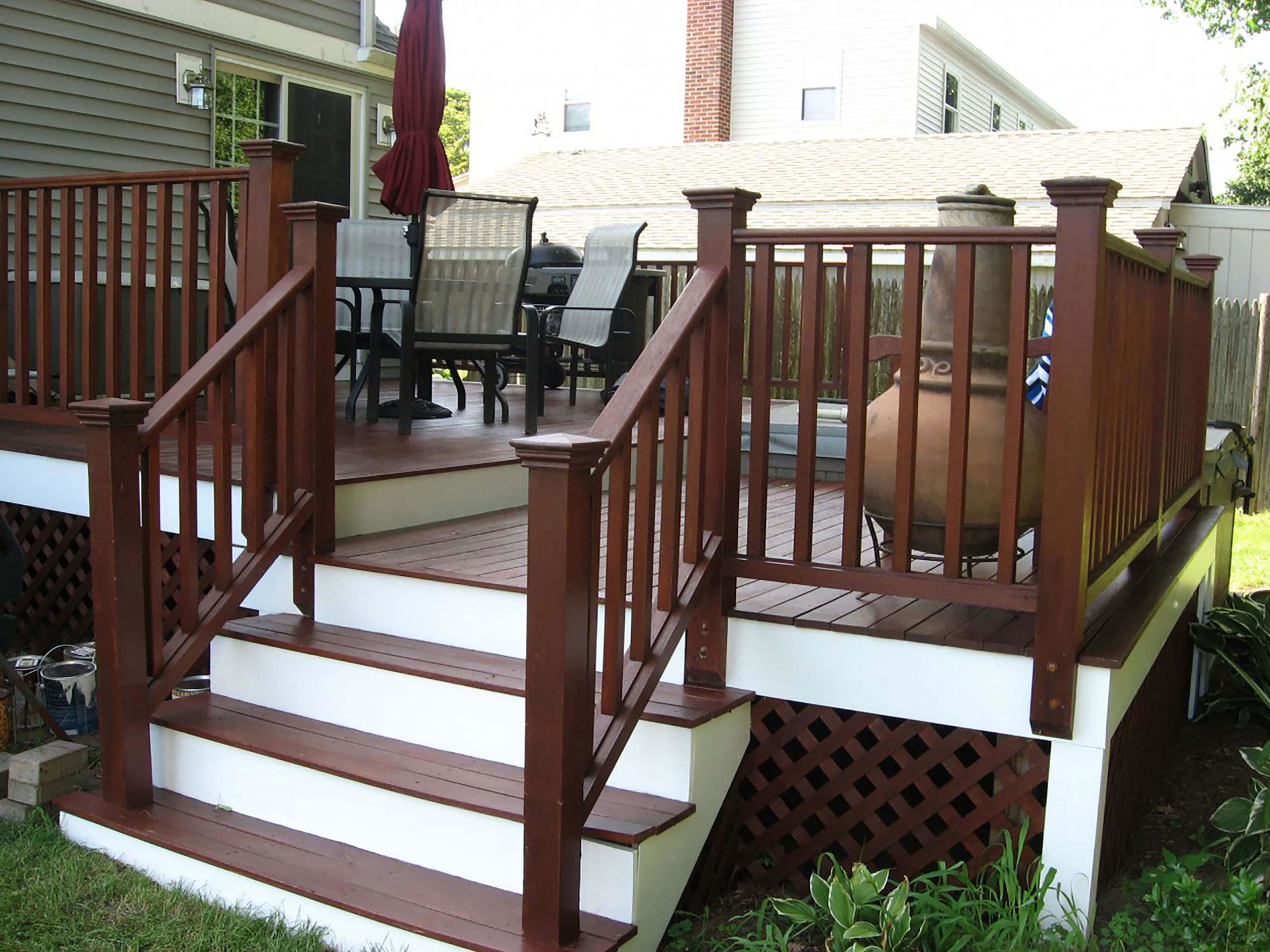 Outdoor Deck Renovations : Decks outdoor spaces rosengarten construction