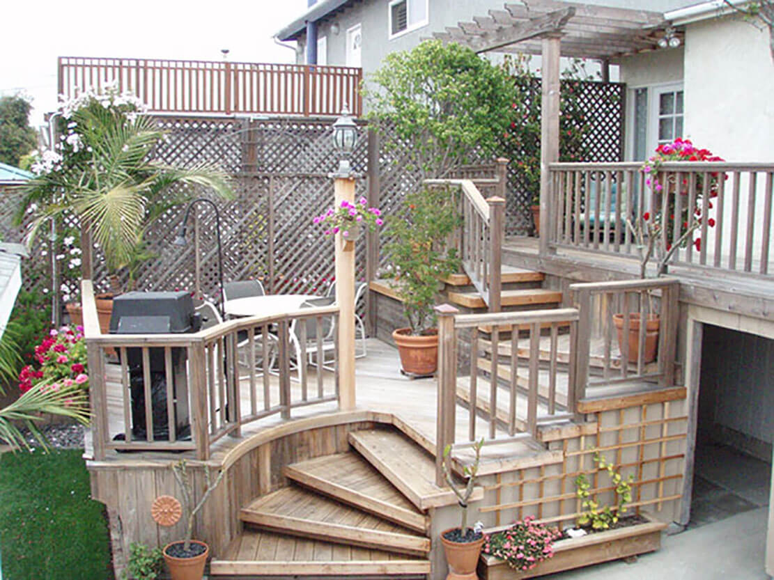 Decks Design Ideas this low level deck used lastdeck aluminum boards and it looks so clean and contemporary the trim pieces attractively surround the deck Deck Designs Ideas Deck Designs Ideas Deck Designs Ideas